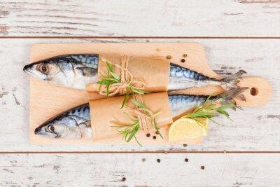 Quadro Peixe fresco delicioso.