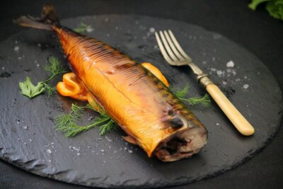 Quadro peixe oleoso