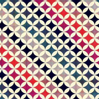 Quadro perfeita círculos textura do fundo
