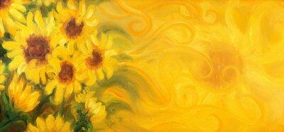 Quadro Pintura a óleo sobre tela.