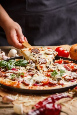 Quadro Pizza caseira