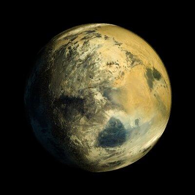 Quadro Planeta Exo Estrangeiro