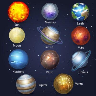 Quadro Planeta jogo 2