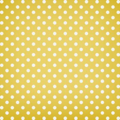 Quadro Polka dot background