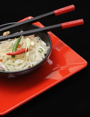 Quadro Pomelo fresco salada thai
