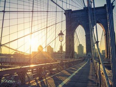Quadro Ponte de Brooklyn Nova Iorque