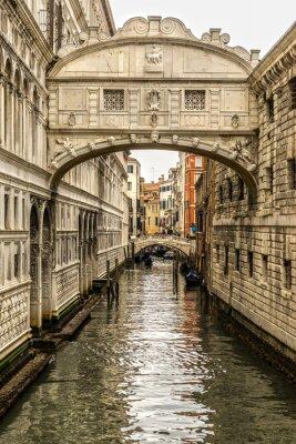 Quadro Ponte dei Sospiri, Veneza, Itália