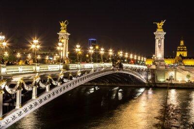 Quadro Ponte do Alexandre III em Paris