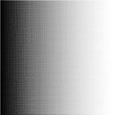 Quadro Pontos de retícula gradiente em formato vetorial