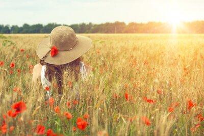 Quadro poppies field