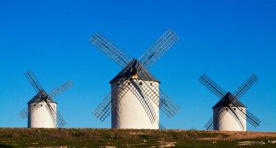 Quadro Poucos dos moinhos de vento