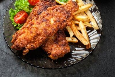 Quadro PREÇO / INFO Adicionar à Mesa de Luz fritado, crispy, massa, lascas