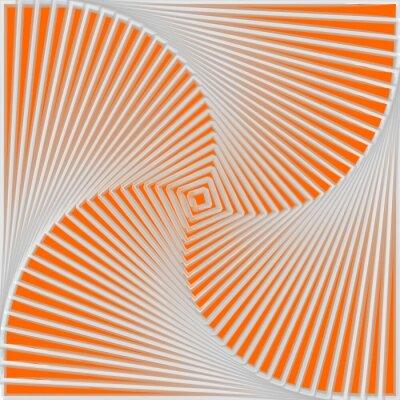 Quadro Projeto colorido giro ilusão movimento de fundo
