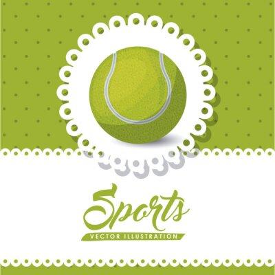 Quadro Projeto da liga de tênis
