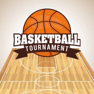 Quadro Projeto do basquetebol