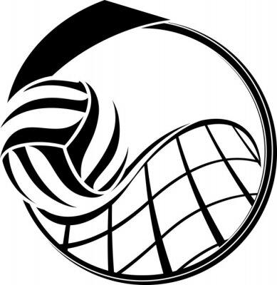 Quadro Projeto do voleibol Medal
