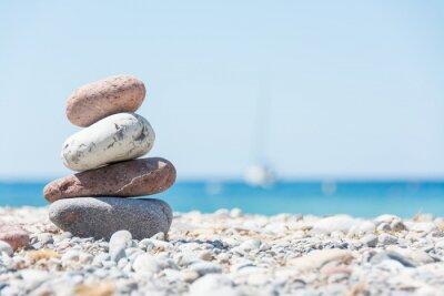 Quadro Relaxar na praia