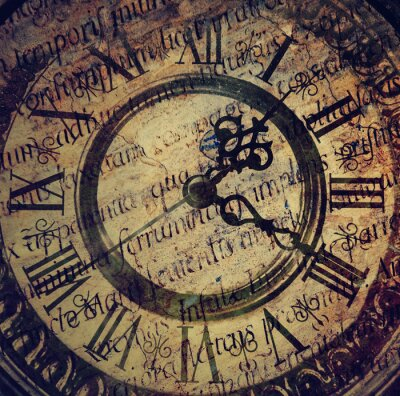 Quadro Relógio antigo velho