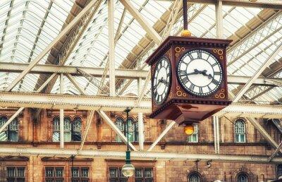 Quadro Relógio da estação antiga