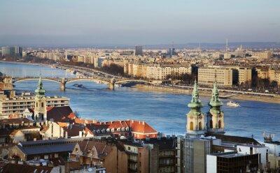 Quadro Rio Danúbio, em Budapeste. Hungria