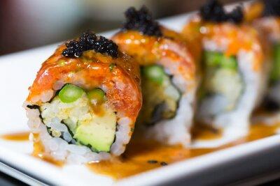 Quadro Rolo do sushi