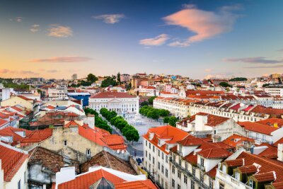 Quadro Rossio Praça de Lisboa