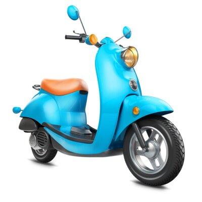Quadro Scooter retro clássico