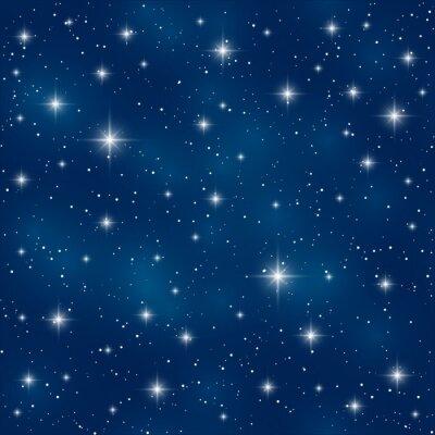 Quadro Seamless, Padrão, brilhante, estrelas