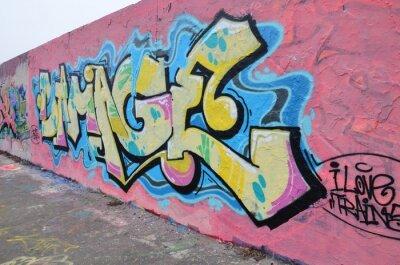 Quadro Segmento de mur à Berlim