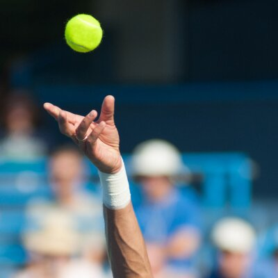 Quadro Serviço de tênis