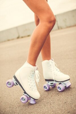 Quadro Seus novos patins.