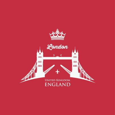 Quadro Símbolo da ponte da torre de Londres