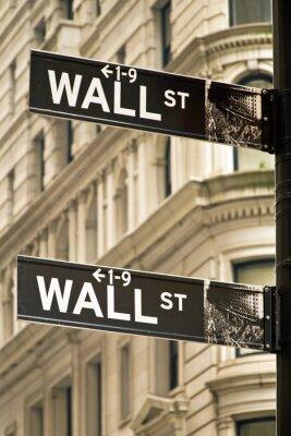 Quadro Sinais de Wall Street em Nova York
