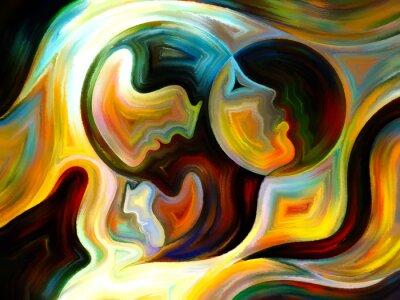 Quadro Sinergias de Inner pintura