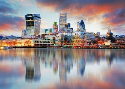 Quadro Skyline de Londres