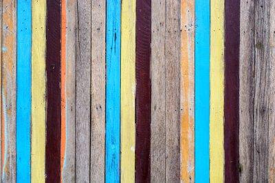 Quadro Slat colorido