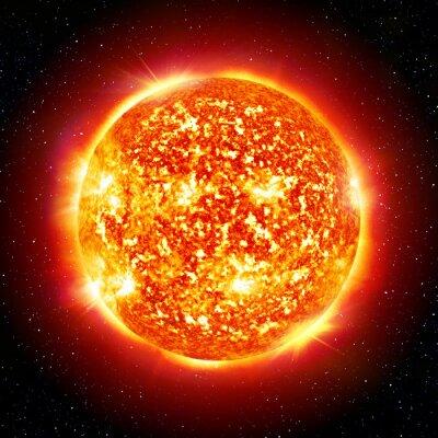 Quadro sol planeta