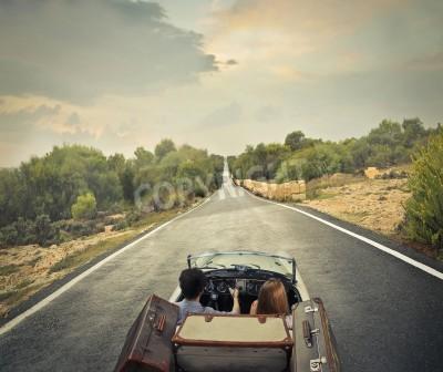 Quadro Solitary road