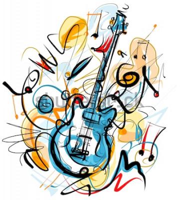 Quadro Solo de guitarra