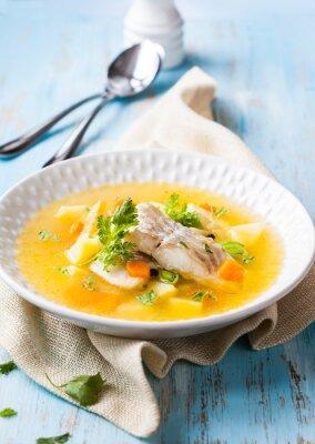 Quadro Sopa de peixe
