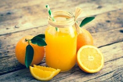 Quadro suco de laranja