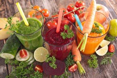 Quadro Suco de vegetais de desintoxicação