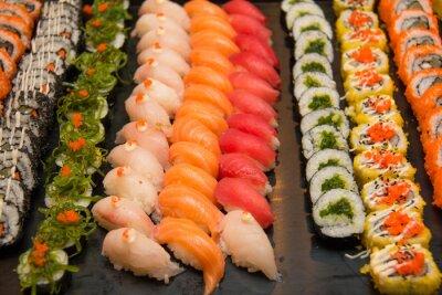 Quadro Sushi japonês Assorted