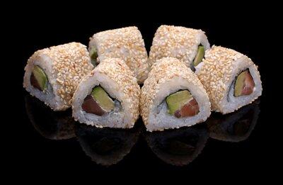 Quadro Sushi rolos