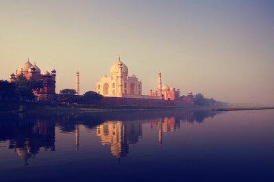 Quadro Taj Mahal India sete maravilhas Conceitos
