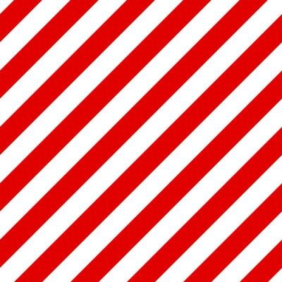 Quadro Teste padrão diagonal sem emenda listrado abstrato com vermelho e branco st