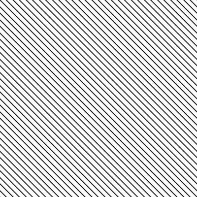 Quadro Teste padrão sem emenda da listra diagonal. Linha fina preto e branco clássica geométrica fundo.