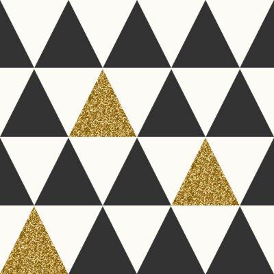 Quadro Teste padrão sem emenda geométrico abstrato