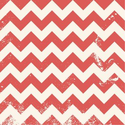 Quadro teste padrão vermelho da viga com textura afligida