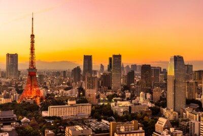 Quadro Tóquio, Japão.